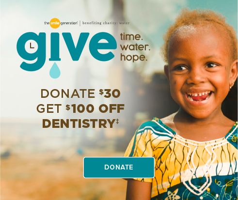 Donate $30, Get $100 Off Dentistry - Quarry Creek Dental Group